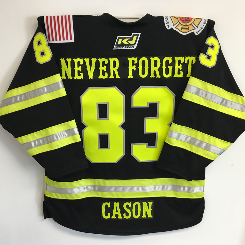 Never Forget Jersey back